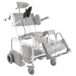 Krzesło toaletowo-kąpielowe HMN M2 EL-TIP z joystickiem