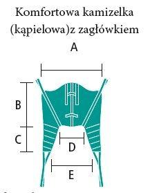 komfortowa kamizelka z zagłówkiem aks wymiary