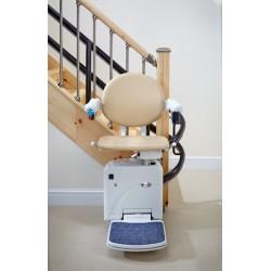 Krzywoliniowe krzesełka schodowe Handicare