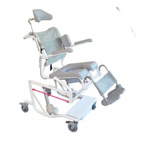 Krzesło toaletowo-kąpielowe HMN M2 Multi -tip
